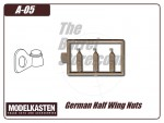 German Half Wing Nuts