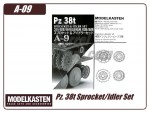 Panzer 38t Sprocket/Idler Set