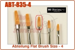 Abteilung Flat Brush Size - 4