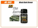 Wash Dark Brown