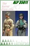 WWII U.S. Tank Crew Set (Includes: 35009 & 35010)
