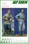 Russian Tank Crew Set 1943-1945 (2 Figs w/4 Heads)
