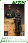 Panzer Commander Set (2 Figures)