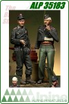 German Panzer Crew Set (2 Figures)