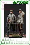 WWII US Infantry Set (2 Figures)