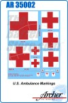 U.S. Ambulance Markings