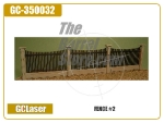 "FENCE #2 - 8-5/8"" x 7/16"" x 2"" Includes: (1) 24' Fence section"