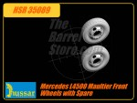 Mercedes L4500 Maultier Front Wheels with Spare