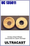 Centaur Road Wheels, Unmounted for Spare Stowage