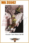 Russian Tank Riders Set #3